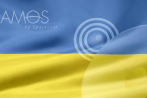 Украинское телевидение в Болгарии от спутника АМОС